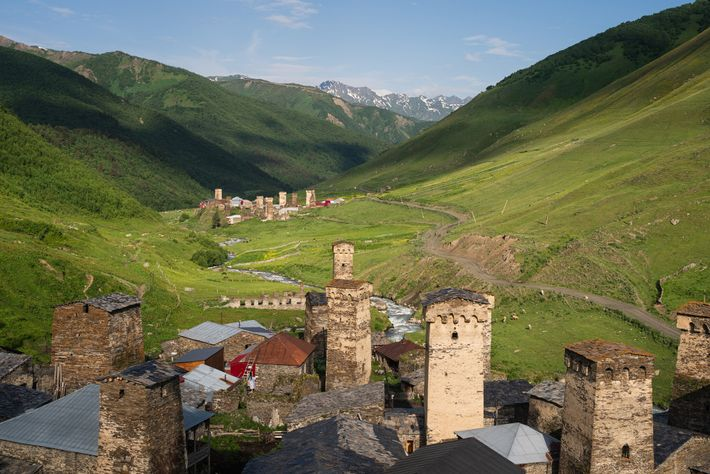 Surrounded by the snow-capped peaks of the Caucasus mountain range, Svaneti is home to some of ...