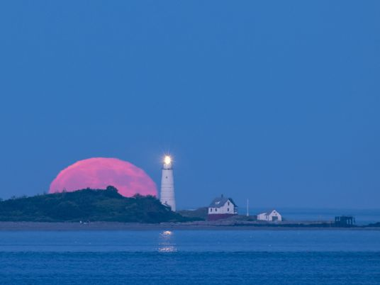 See a Rare Red Full Moon - 1
