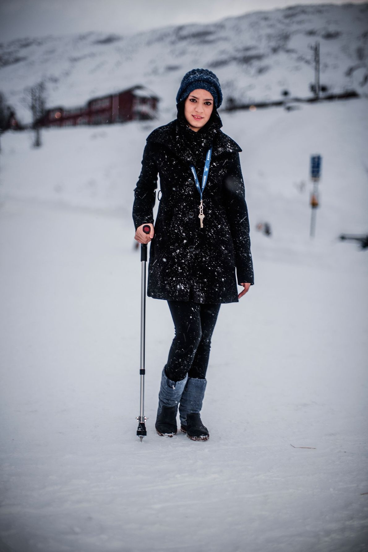 Foto: Roya Hosseini 14 fled with her family to Sweden