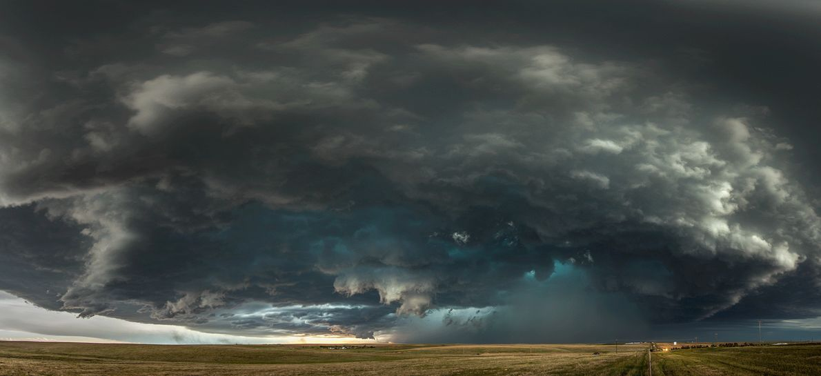 Picture of storm clouds in Colorado