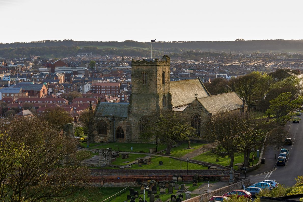 St. Mary's Parish Church Graveyard, Scarborough, England