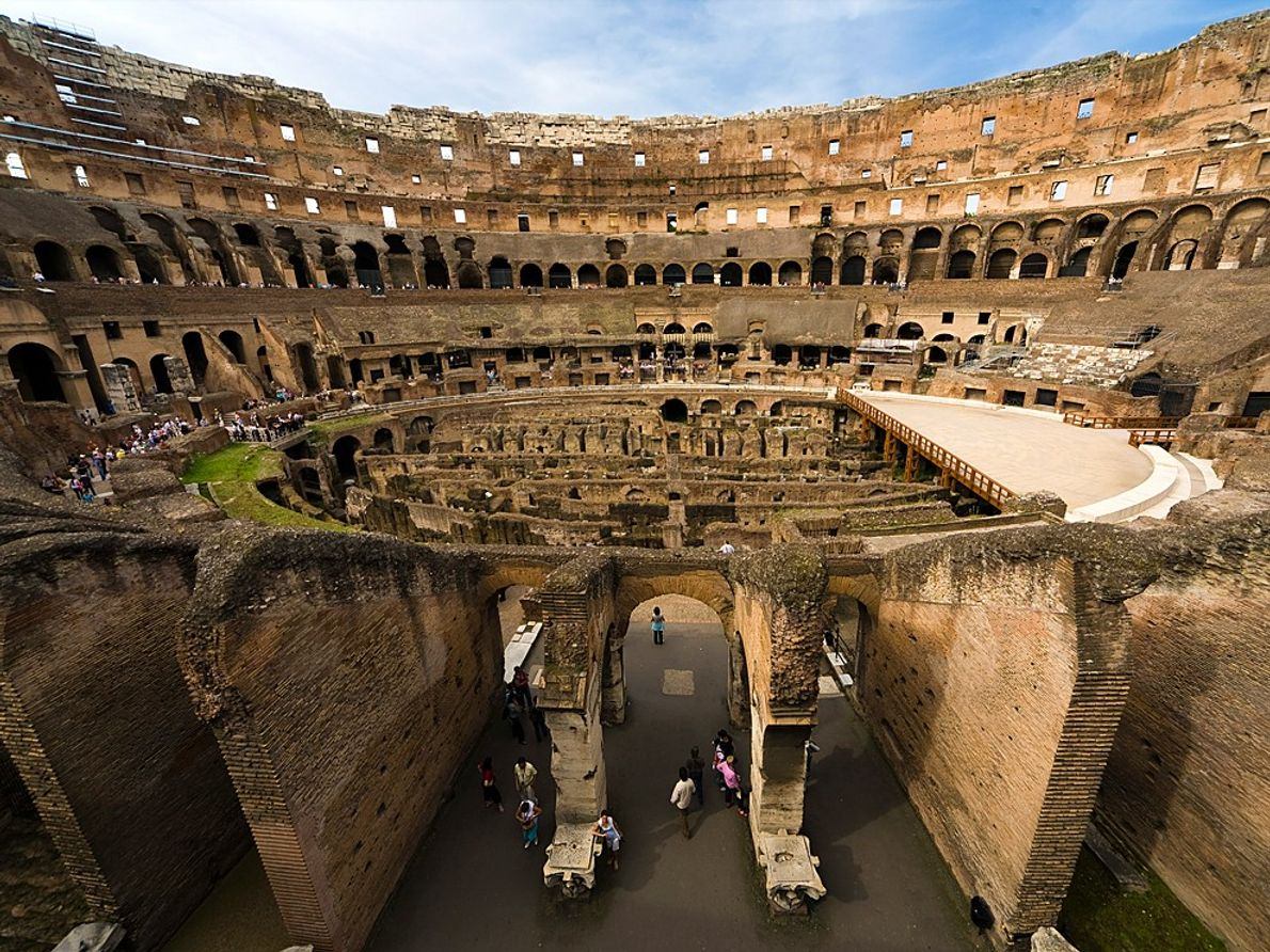 Colosseum and Roman Forum, Italy