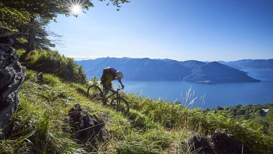 Mountainbiken in Ticino: Zwitserse precisie & Italiaanse flair