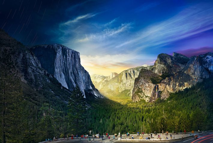 Tunnel View, Yosemite nationaal park
