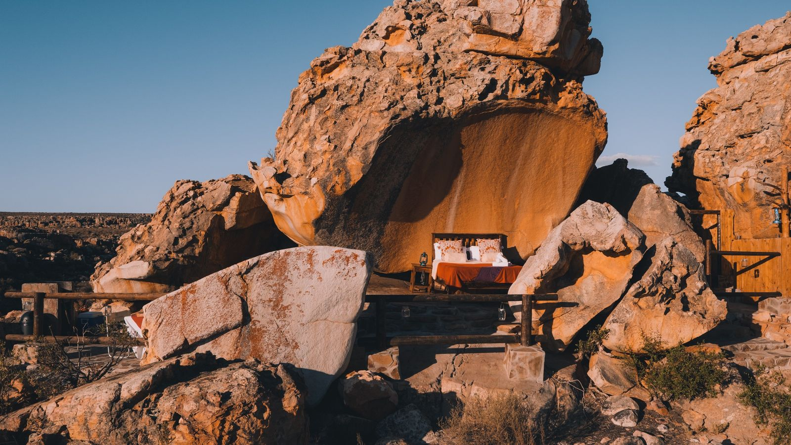 De Star Suite in het Kagga Kamma Nature Reserve.