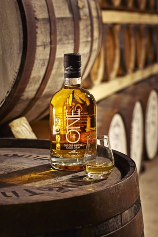 The ONE, The Lakes Distillery cellar
