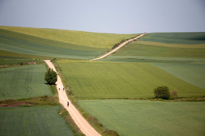 Hikers and spiritual travelers who journey along Spain's El Camino de Santiago can stop at monasteries ...