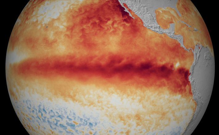 El Niño-Southern Oscillation (ENSO) is a climate pattern that warms and cools the tropical Pacific Ocean. ...