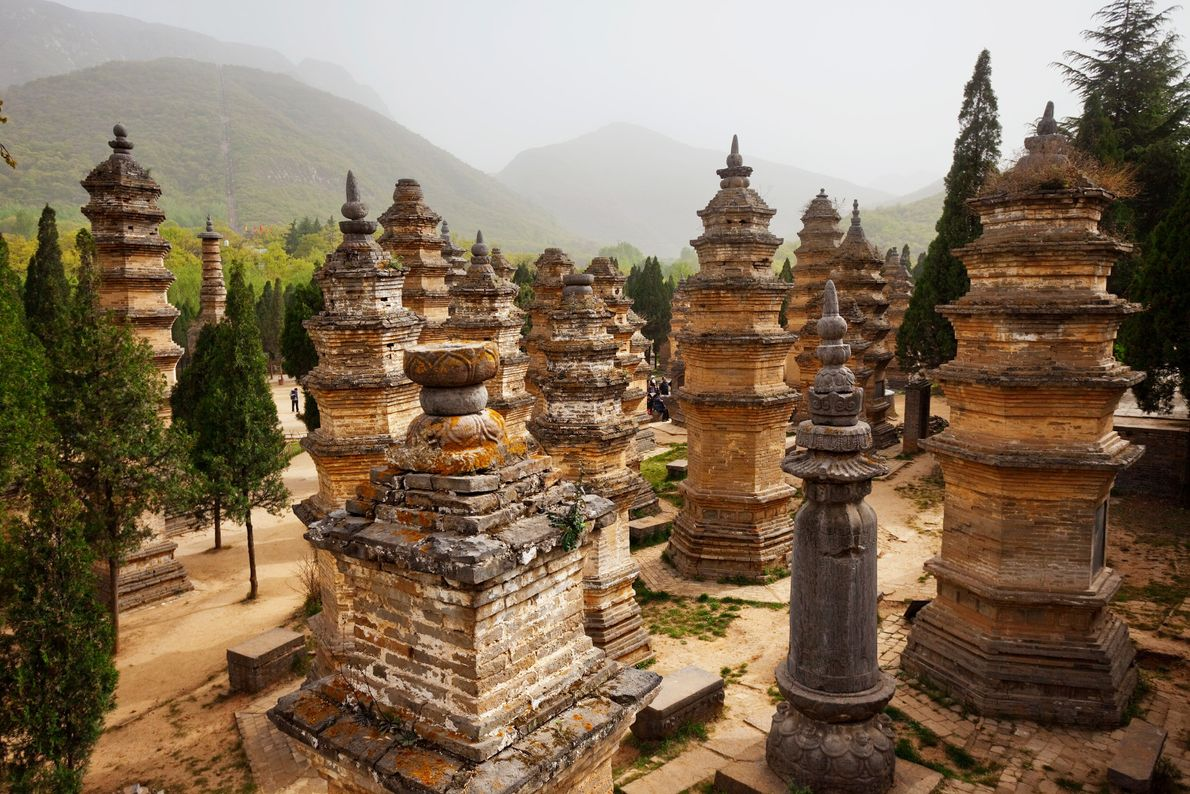 Monuments of Dengfeng