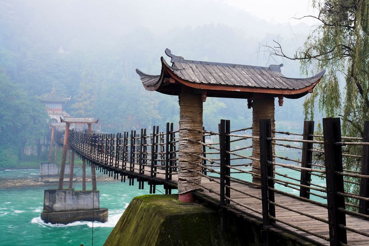 Mount Qingcheng and The Dujiangyan Irrigation System