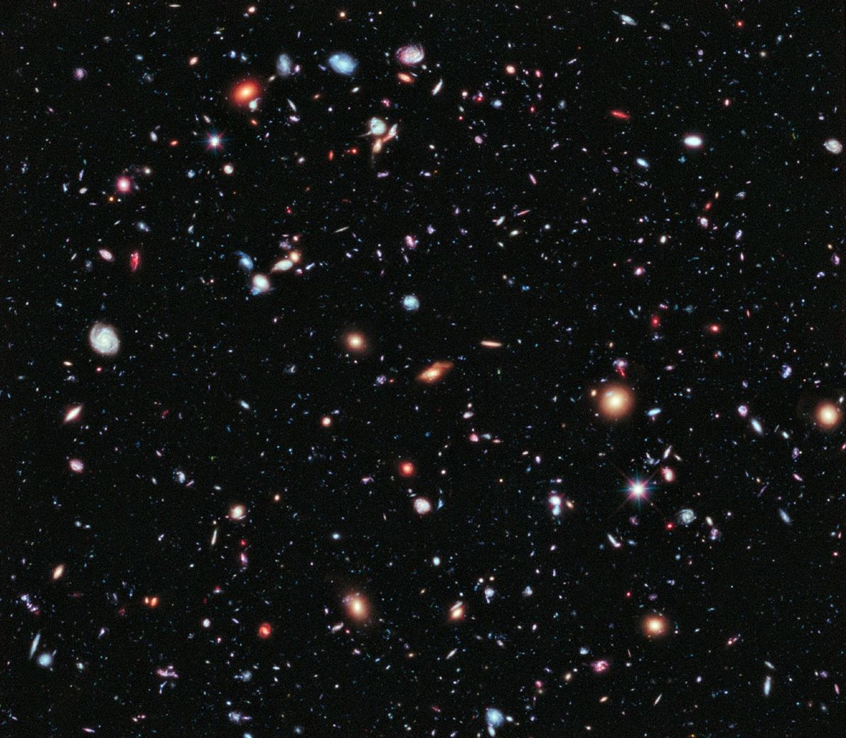 Extreme Deep Field View