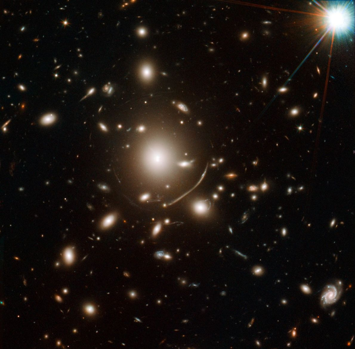 Galactic Magnifying Glass