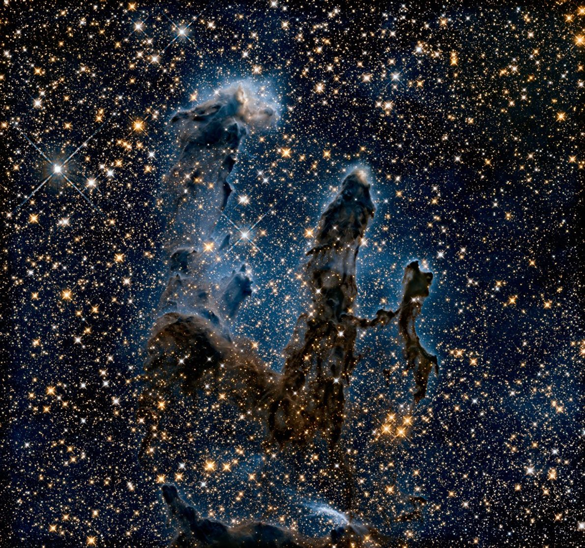 Pillars of Creation Revisited