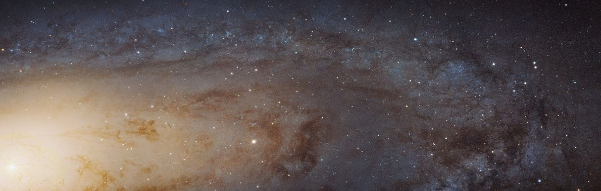 A Breathtaking View of Our Galactic Neighbor