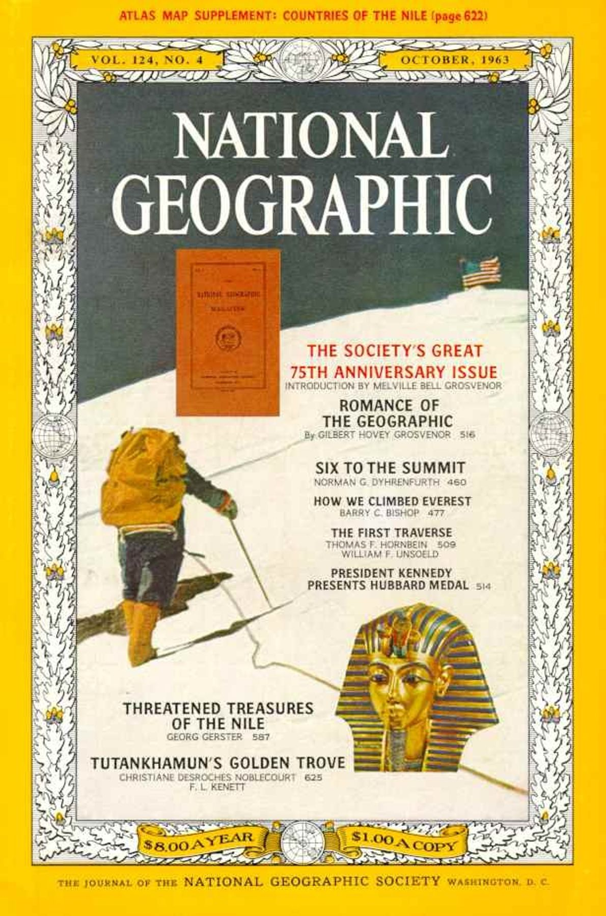 October 1963—75th Anniversary Issue