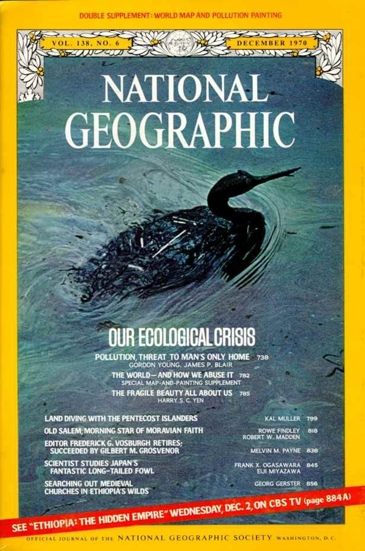 December 1970—Our Ecological Crisis