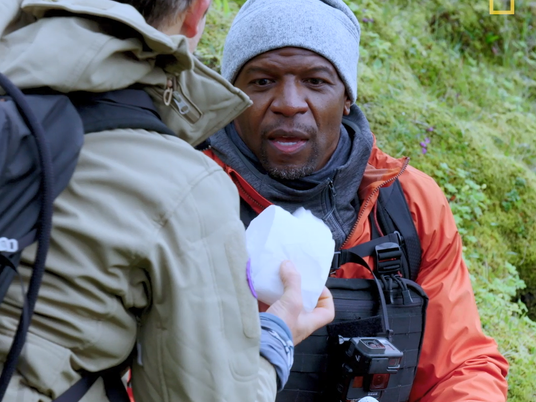 Masterclass: Bear Grylls en Terry Crews