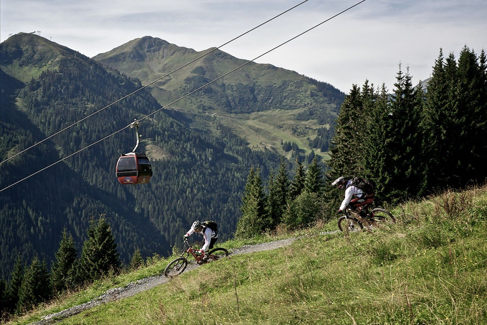 Saalbach Hinterglemm: Mekka voor mountainbikers