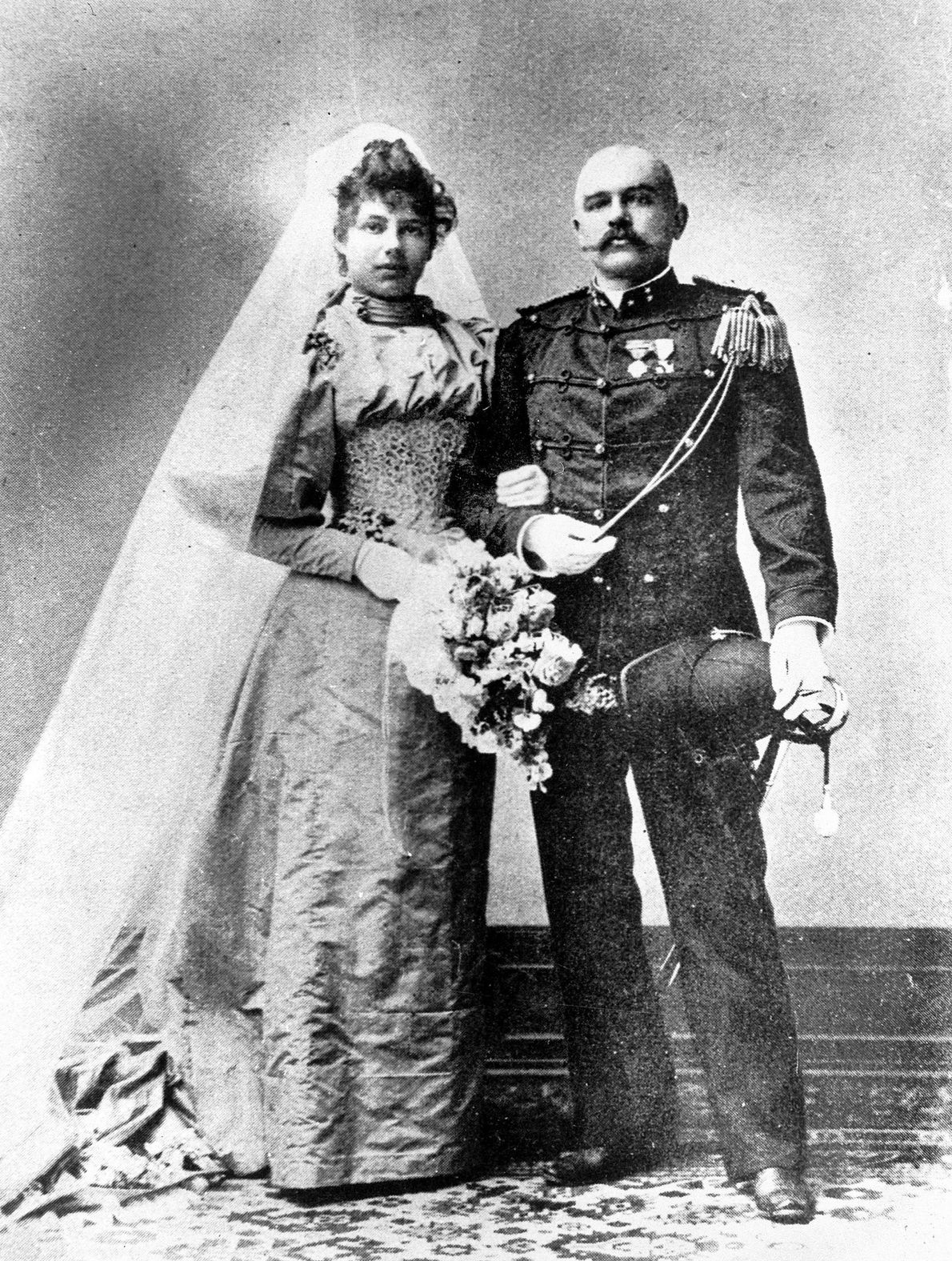 In 1895, the 18-year-old future Mata Hari married Capt. Rudolf MacLeod, an older man who, unbeknownst ...