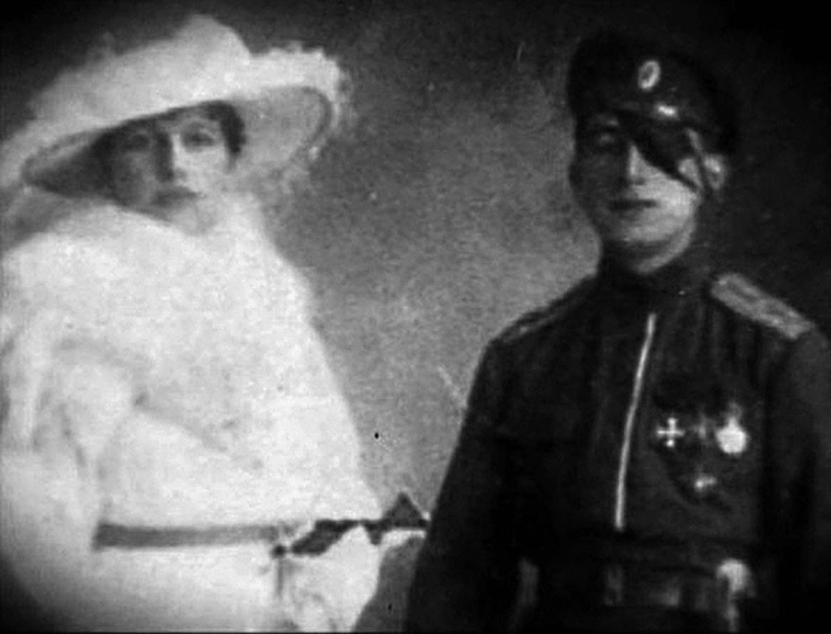 During World War I Mata Hari fell deeply in love with Vladimir Massloff, a young, half-blinded ...