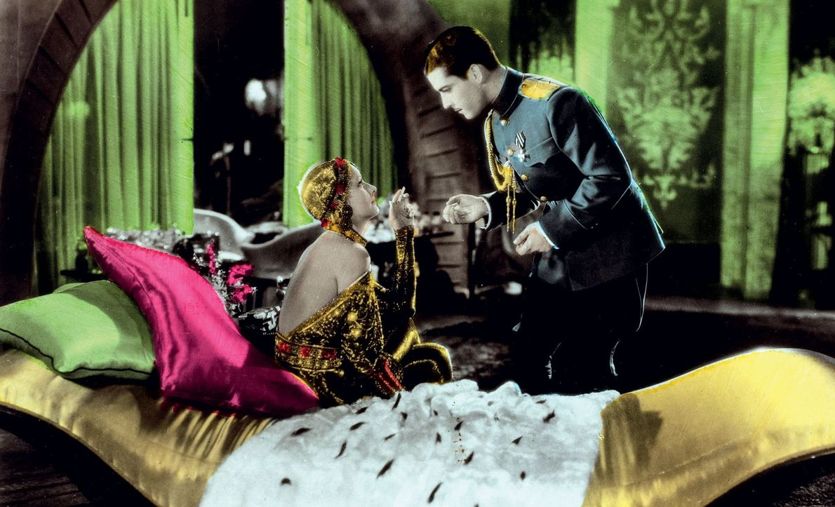The 1931 film is only loosely based on history: Mata Hari is a German spy who ...