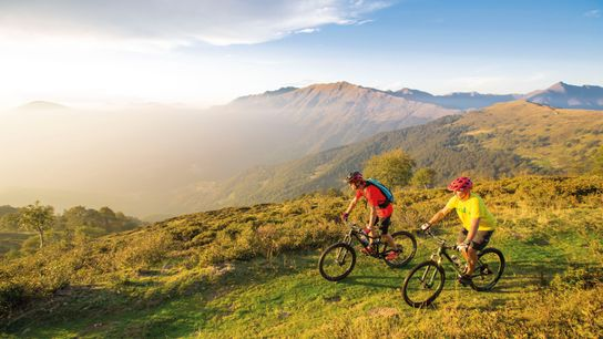 Mountainbiken in Val Colla.