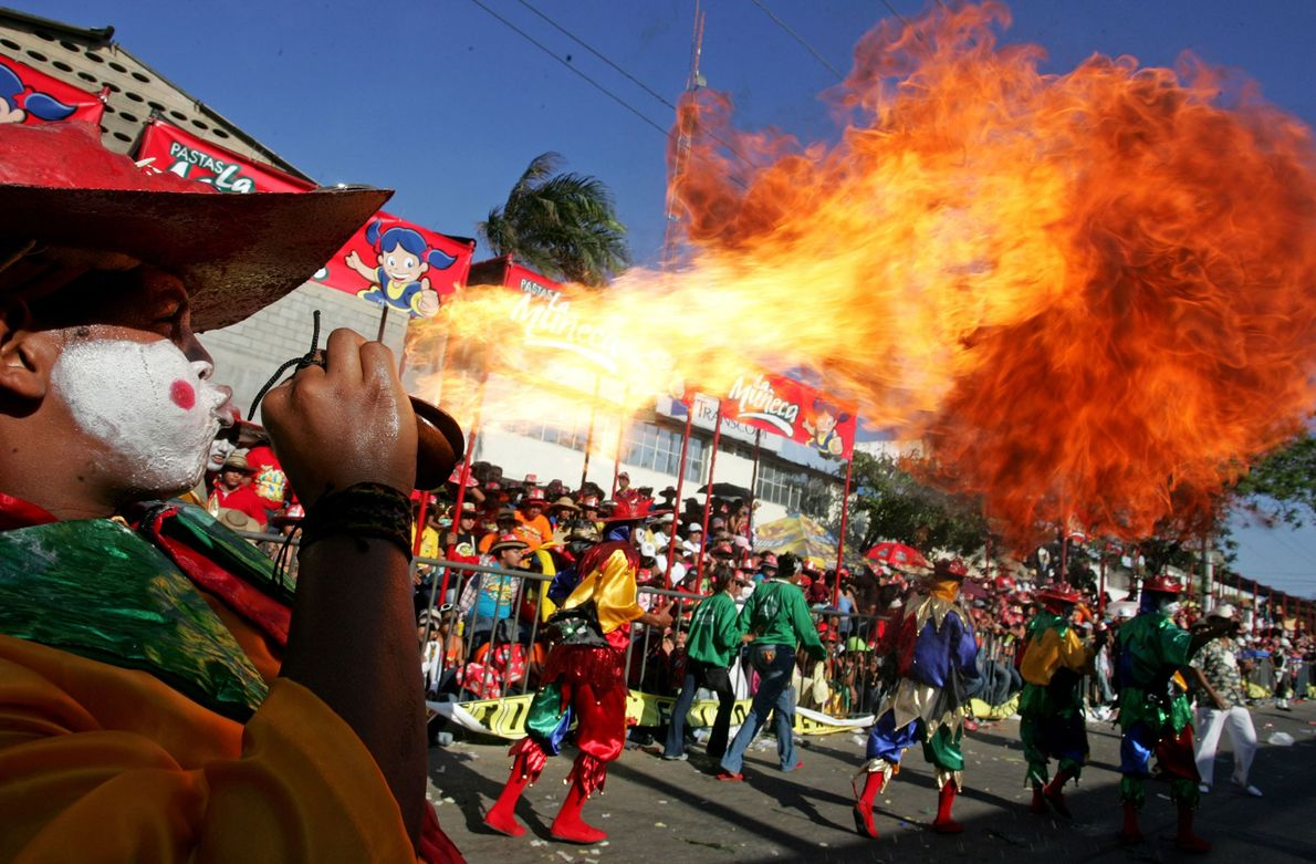 The Carnival of Barranquilla, Colombia