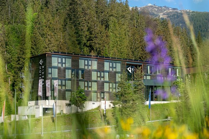 Riders Hotel  in Laax.